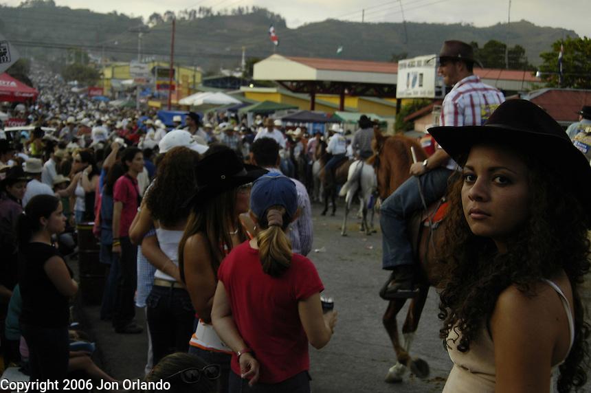 El Topa Festival in Palmares, Costa Rica.