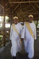 Afrique/Afrique de l'Est/Tanzanie/Zanzibar/Ile Unguja/Bwejuu: Hotel Breezes Beach Club les portiers de l'accueil