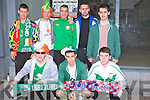 WAIT: Young fan waiting for the Ireland and Croita game on the big screen in the Square, Tralee on Sunday evening, Front l-r: Neill Byrne, Danny Roche and Daryl Byrne. Back l-r: Paudie Cunningham, Eoghan O'Leary, Michael Gallagher,Timmy keating and Aaron Roche.....