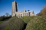 Church of St Peter and St Paul, Lavenham, Suffolk, England