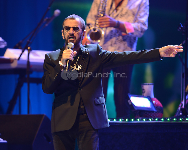 HOLLYWOOD FL - JUNE 30 :  Ringo Starr performs at Hard Rock Live held at the Seminole Hard Rock Hotel & Casino on June 30, 2012 in Hollywood, Florida. © mpi04/MediaPunch Inc