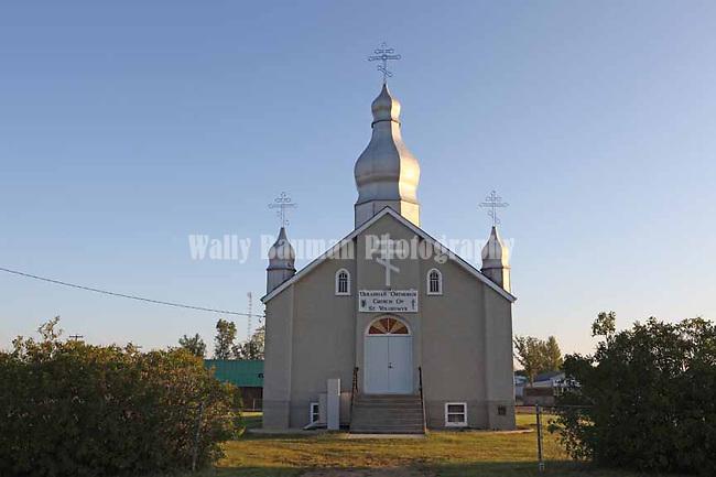 CHURCH AT BUSBY ALBERTA