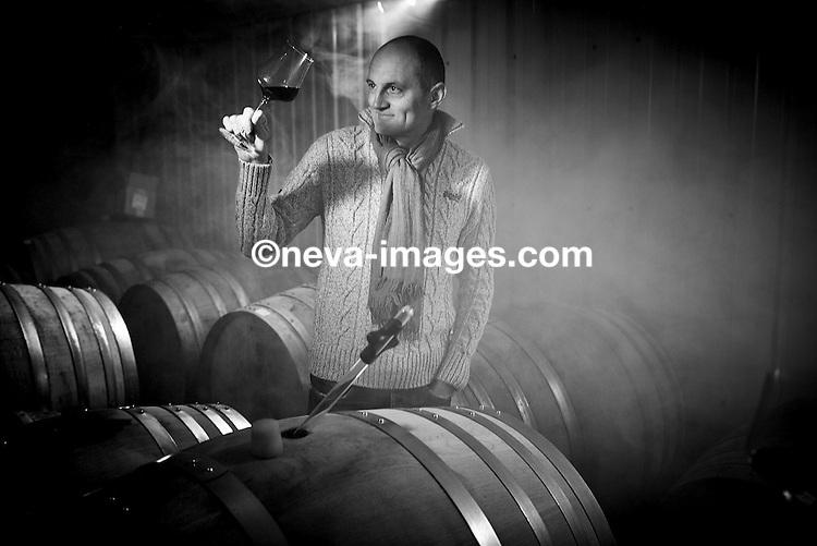 Sion, le 4 février 2017, Thierry Constantin vigneron-éleveur  © sedrik nemeth