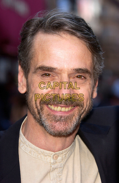 """JEREMY IRONS.European Film Premiere of """"Kingdom of Heaven"""",.Empire Cinema, Leicester Square, London, .May 2nd 2005..portrait headshot beard jeremey.Ref: DH.www.capitalpictures.com.sales@capitalpictures.com.©Capital Pictures."""