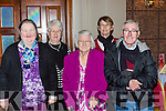 Abbey O'Donoghue, Maureen Buckley, Noreen O'Donoghue, Bridie O'Sullivan and Denis O'Shea at the Killarney Active retirement lunch in the INEC on Sunday