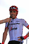 Alberto Contador (ESP) Trek-Segafredo at sign on in Mondorf-les-Bains before the start of Stage 4 of the 104th edition of the Tour de France 2017, running 207.5km from Mondorf-les-Bains, Luxembourg to Vittel, France. 4th July 2017.<br /> Picture: Eoin Clarke | Cyclefile<br /> <br /> <br /> All photos usage must carry mandatory copyright credit (&copy; Cyclefile | Eoin Clarke)