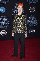LOS ANGELES, CA - NOVEMBER 29: Sandy Powell attends the Premiere Of Disney's 'Mary Poppins Returns' at El Capitan Theatre on November 29, 2018 in Los Angeles, California.<br /> CAP/ROT/TM<br /> &copy;TM/ROT/Capital Pictures