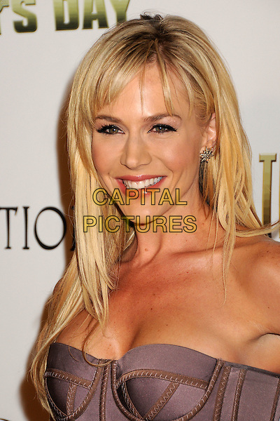 "JULIE BENZ.""The Boondock Saints II: All Saints Day"" Los Angeles Premiere held at Arclight Cinemas, Hollywood, California, USA..October 28th, 2009.headshot portrait strapless purple corset lilac .CAP/ADM/BP.©Byron Purvis/AdMedia/Capital Pictures."