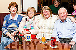 Tralee & West Kerry M.S. Association held an Afternoon Tea Dance fundraiser last Sunday in Fr. Casey's Clubhouse Abbeyfeale. Mary Mitchell, Eileen Moran, Phil Fealy, John Joe Healy all from Ballybunion.