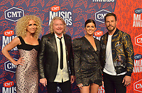 NASHVILLE, TN - JUNE 5: Little Big Town attends the 2019 CMT Music Awards at Bridgestone Arena on June 5, 2019 in Nashville, Tennessee. (Photo by Tonya Wise/PictureGroup)