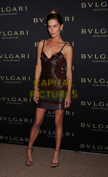 WEST HOLLYWOOD, CA- FEBRUARY 25: Model Erin Wasson arrives at the BVLGARI 'Decades Of Glamour' Oscar Party Hosted By Naomi Watts at Soho House on February 25, 2014 in West Hollywood, California.<br /> CAP/JOR<br /> &copy;Nils Jorgensen/Capital Pictures