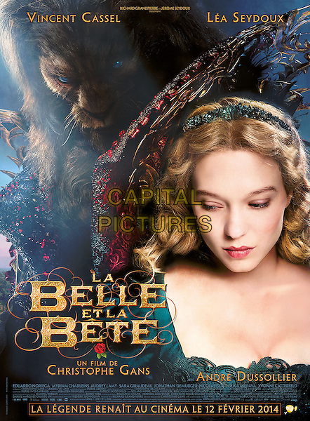 POSTER ART<br /> in Beauty and the Beast (2014) <br /> (La belle et la bete)<br /> *Filmstill - Editorial Use Only*<br /> CAP/NFS<br /> Image supplied by Capital Pictures