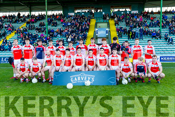 Dingle team who played  South Kerry in the Quarter Finals of the Kerry County Football Championship at Austin Stack Park on Saturday.