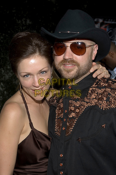 "CRAIG BREWER & GUEST.At the ""Hustle & Flow"" Los Angeles Film Premiere,.held at the Arclight Cinerama Dome, .Hollywood, California, USA, 20th July 2005..portrait headshot sunglasses beard hat cap.Ref: ADM.www.capitalpictures.com.sales@capitalpictures.com.©Zach Lipp/AdMedia/Capital Pictures."