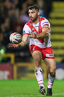 Picture by Alex Whitehead/SWpix.com - 28/09/2017 - Rugby League - Betfred Super League Semi Final - Castleford Tigers v St Helens - The Mend A Hose Jungle, Castleford, England - St Helens' Matty Smith in action.