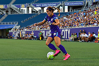 Orlando, FL - Thursday June 23, 2016: Samantha Witteman during a regular season National Women's Soccer League (NWSL) match between the Orlando Pride and the Houston Dash at Camping World Stadium.
