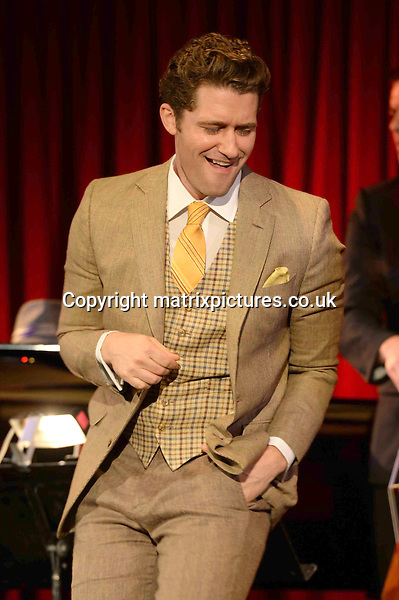 NON EXCLUSIVE PICTURE: PAUL TREADWAY / MATRIXPICTURES.CO.UK<br /> PLEASE CREDIT ALL USES<br /> <br /> WORLD RIGHTS<br /> <br /> American &quot;Glee&quot; actor and singer-songwriter Matthew Morrison is pictured performing a live concert at London's Bush Hall.<br /> <br /> 20th JUNE 2013<br /> <br /> REF: PTY 134227