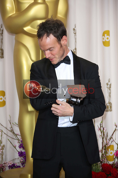 Chris Terrio<br /> at the 85th Annual Academy Awards Press Room, Dolby Theater, Hollywood, CA 02-24-13<br /> David Edwards/DailyCeleb.com 818-249-4998