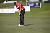 Daniel Gaunt (ENG) birdies the 3rd during Round Two of the 2015 Nordea Masters at the PGA Sweden National, Bara, Malmo, Sweden. 05/06/2015. Picture David Lloyd | www.golffile.ie