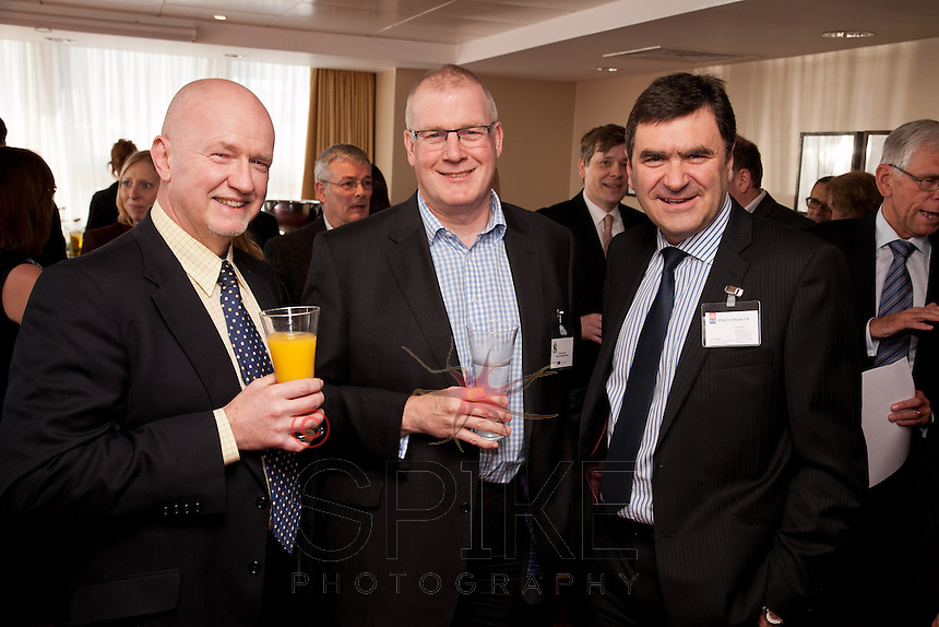From left are Alistair Wesson of Mazars, Duncan Taylor of Nelsons and Gerry McPake of Allied Irish Bank