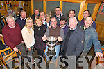 Brendan Griffin, Banna,  Winner of the Supreme Champion at the Fat Stock Show and Sale on Monday at The Kingdom Mart Tralee Pictured here with Tim Nolan, Katrina McCarthy, Teresa Reidy Aileen Griffin, Francis Lawlor, Padraig Connolly, Maurice McElligott, Shamus, Tom Joe Haze, Joe Clifford, Paul O'Connor, Eamon O'Mahony and Tomas O'Riordan