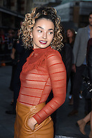 Ella Eyre<br /> at the premiere of &quot;The Girl on the Train&quot;, Odeon Leicester Square, London.<br /> <br /> <br /> &copy;Ash Knotek  D3156  20/09/2016