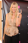 CANOGA PARK, CA. - October 31: Maria Sharapova hosts the launch of the Sony Ericsson Equinox Phone at the T-Mobile Store on October 31, 2009 in Canoga Park, California.