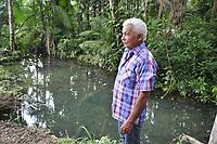 Barcarena, Pará, Brasil. Arnaldo Lobo Martins, 67 anos/ Quilombola. Gancho: Repercurssão das comunidades que foram atingidas por dejetos da mineradora Hydro.  Local:  - Barcarena. Data: 08/03/2018. Foto: Mauro Ângelo Ângelo/ Diário do Pará.