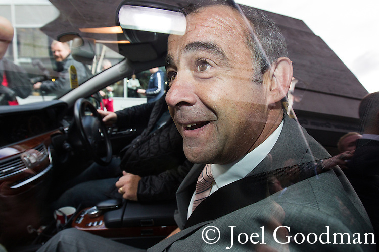 © Joel Goodman . No syndication permitted . 10/09/2013 . Manchester , UK . MICHAEL LE VELL (aka Michael Turner ) in his car outside Manchester Crown Court this afternoon (Tuesday 10th September 2013) after being cleared of all charges . The actor , who plays mechanic Kevin Webster in Coronation Street , was charged with a series of offences including rape , sexual activity with a child and indecent assault . Photo credit : Joel Goodman