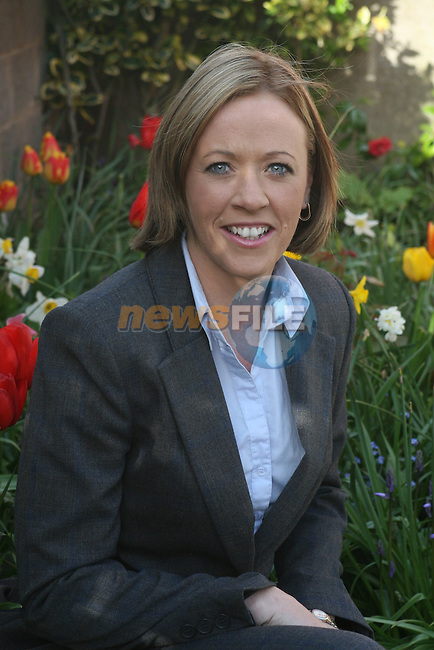 Catherine Tiernan Bell who will be the new principal of school on the Ballymakenny Road...Photo NEWSFILE/Jenny Matthews.(Photo credit should read Jenny Matthews/NEWSFILE)....This Picture has been sent you under the condtions enclosed by:.Newsfile Ltd..The Studio,.Millmount Abbey,.Drogheda,.Co Meath..Ireland..Tel: +353(0)41-9871240.Fax: +353(0)41-9871260.GSM: +353(0)86-2500958.email: pictures@newsfile.ie.www.newsfile.ie.FTP: 193.120.102.198.