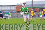 Emma Sherwood for the Kerry ladies team that played Clare last Saturday afternoon in Listowel.