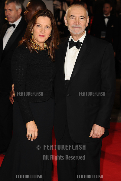 Barbara Broccoli and Michael G.Wilson arriving for the Royal World Premiere of 'Skyfall' at Royal Albert Hall, London. 23/10/2012 Picture by: Steve Vas / Featureflash