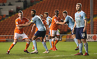 Blackpool's Paudie O'Connor <br /> <br /> Photographer Rachel Holborn/CameraSport<br /> <br /> The EFL Checkatrade Trophy Group C - Blackpool v Accrington Stanley - Tuesday 13th November 2018 - Bloomfield Road - Blackpool<br />  <br /> World Copyright © 2018 CameraSport. All rights reserved. 43 Linden Ave. Countesthorpe. Leicester. England. LE8 5PG - Tel: +44 (0) 116 277 4147 - admin@camerasport.com - www.camerasport.com