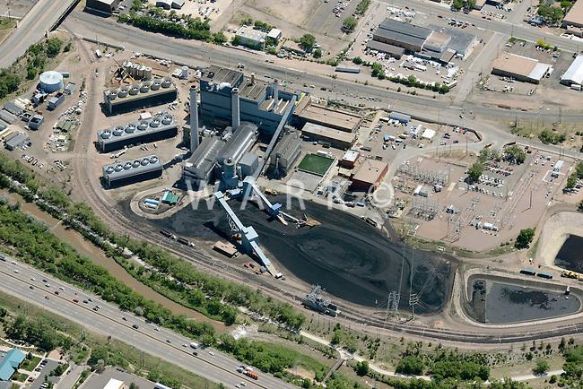 Drake Power Plant, Colorado Springs, Colorado. June 2014. 85577