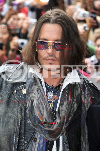 TORONTO, ON - SEPTEMBER 08: Johnny Depp at the 'West Of Memphis' premiere during the 2012 Toronto International Film Festival at the Ryerson Theatre on September 8, 2012 in Toronto, Canada. &copy;&nbsp;mpi01/MediaPunch Inc. /NortePhoto.com<br />