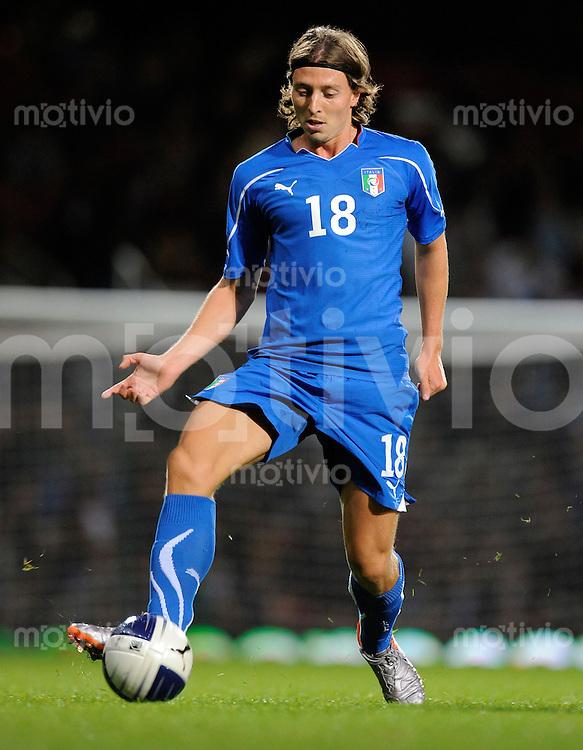 Fussball Nationalmannschaft :  Saison   2010/2011    10.08.2010 Freundschaftsspiel, Italien - Elfenbeinkueste Riccardo MONTOLIVO (Italien)