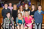 Claudia Culloty, Firies who celebrated her 18th birthday with her family and friends in Scotts Hotel Killarney on Saturday night front row l-r: Maureen, Claudia Culloty and Máire O'Grady-Mann. Back row: Chris O'Brien, John Culloty, Mary Culloty, Alannah Rice, Blaithin Murphy, Siabh Murphy and Mark O'Brien