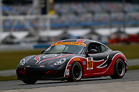 5-8 January, 2017, Daytona Beach, Florida USA<br /> 18, Porsche, Porsche Cayman, ST, <br /> &copy;2017, Jake Galstad<br /> LAT Photo USA