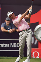 Gonzalo Fedz-Castano (ESP) in action during the second round of the Omega Dubai Desert Classic, Emirates Golf Club, Dubai, UAE. 25/01/2019<br /> Picture: Golffile | Phil Inglis<br /> <br /> <br /> All photo usage must carry mandatory copyright credit (© Golffile | Phil Inglis)