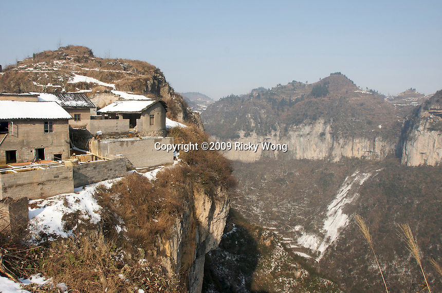 Man Shan Special Region was left over a hollow underground, the region was known as the capital of mercury in China.