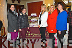 Pictured at the Wedding Fayre in the Devon Inn Hotel, Templeglantine on Sunday were L-R : Maureen Stack Mary Doody and Aileen Pickett (Rockchapel), Norma Biggane (Meelin) and Annette Horgan (Marguerite's Bakery and Sceal Eile Killarney).