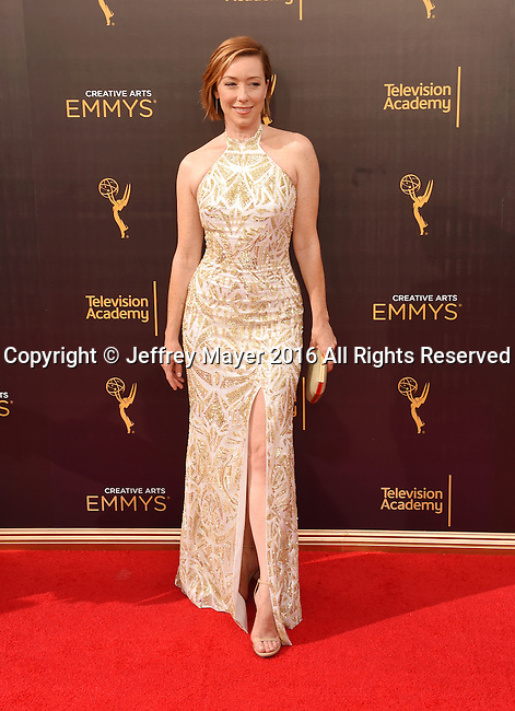 LOS ANGELES, CA - SEPTEMBER 10: Actress Molly Parker attends the 2016 Creative Arts Emmy Awards held at Microsoft Theater on September 10, 2016 in Los Angeles, California.