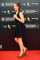 French actress Anais Demoustier presents the film 'The New Girlfriend' during the 62st San Sebastian Film Festival in San Sebastian, Spain. September 20, 2014. (ALTERPHOTOS/Caro Marin) /NortePhoto.com /NortePhoto.com