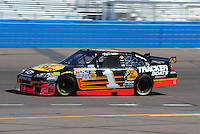 Apr 17, 2009; Avondale, AZ, USA; NASCAR Sprint Cup Series driver Martin Truex Jr during practice for the Subway Fresh Fit 500 at Phoenix International Raceway. Mandatory Credit: Mark J. Rebilas-