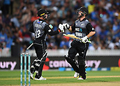 10th February 2019, Seddon Park, Hamilton, New Zealand; 3rd T20 International, New Zealand versus India;    Tim Seifert and Colin Munro