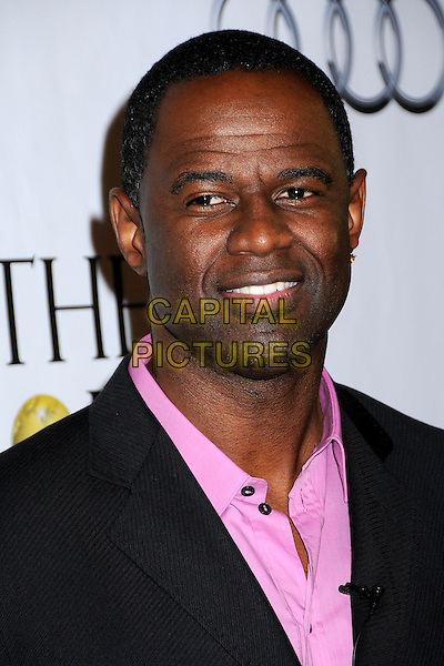 """BRIAN McKNIGHT.1st Annual """"Noble Humanitarian Awards"""" held at the Beverly Hilton Hotel,  Beverly Hills, California, USA..October 18th, 2009.headshot portrait pink black .CAP/ADM/BP.©Byron Purvis/AdMedia/Capital Pictures."""