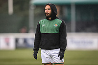 Jordan BURNS of Ealing Trailfinders ahead of the Championship Cup match between Ealing Trailfinders and Richmond at Castle Bar , West Ealing , England  on 15 December 2018. Photo by David Horn.