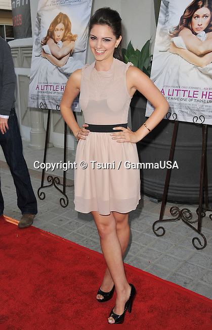 "Sara Kapner  arriving at The ""A Little Help"" Premiere at the Cary Grant Theatre In Los Angeles."