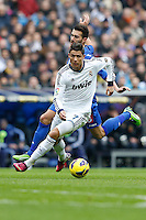 27.01.2013 SPAIN -  La Liga 12/13 Matchday 21th  match played between Real Madrid CF vs Getafe C.F. (4-0) at Santiago Bernabeu stadium. The picture show Cristiano Ronaldo (Portuguese forward of Real Madrid)