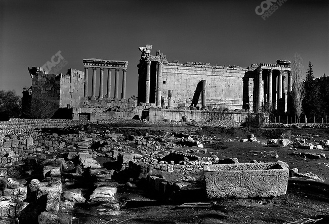 Southern Frontiers: A Journey Across the Roman Empire - The Levant, Baalbek, Lebanon, 2008